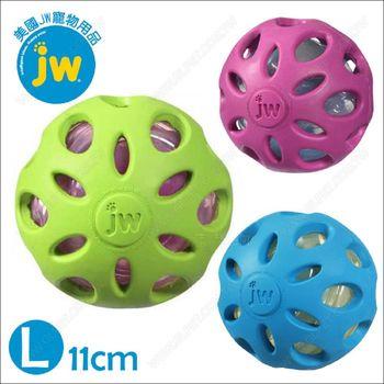 美國JW《Crackle Heads嗶嗶球L》寶特瓶發聲玩具.安全無毒