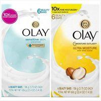 美國Olay歐蕾經典美容香皂(敏感肌膚專用)/乳油木果106g*6/組*4
