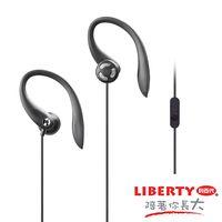 【LIBERTY利百代】黑霸王-耳掛線控耳機麥克風 LB-708