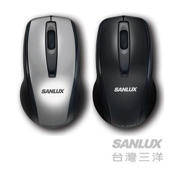 SANLUX台灣三洋 USB有線光學鼠(SYMS-M1)