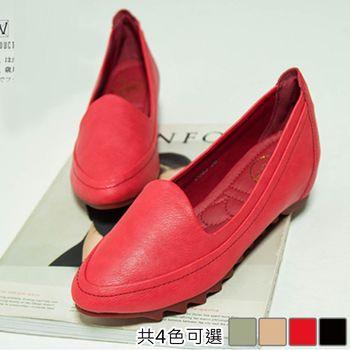 【Alice 】 (現貨+預購) 舒適百搭軟皮豆豆鞋