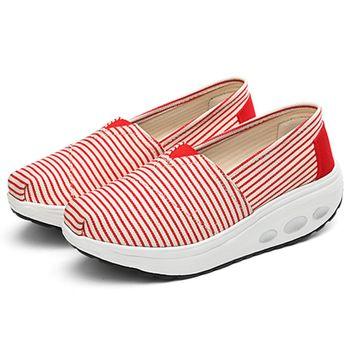 【Alice 】(現貨+預購) 紅白條紋第四代全新健走鞋