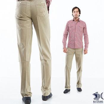 【NST Jeans】390(5516) 無印暖男 駝色_直摺子休閒褲(中腰) _三色可選 淡卡其/駝色/咖啡