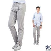 【NST Jeans】390(5523) 阿拉斯加冰河灰 商務休閒褲(中腰) 兩色可選 穩重土象男/ 阿拉斯加冰河灰-行動