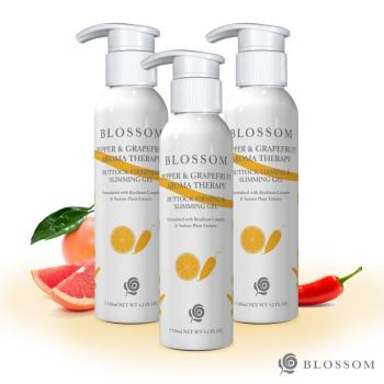 【BLOSSOM】魔椒香柚植萃曲线紧致美腹凝霜(120ML/瓶)(第二代美腹升级版)X3件组