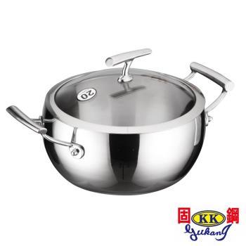 固鋼食品級316不鏽鋼南瓜湯鍋20cm