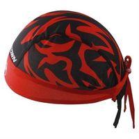 【米蘭精品】自行車頭巾遮陽運動頭巾獨特花紋雙拼設計73fo39