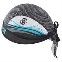 【米蘭精品】自行車頭巾抗紫外線運動頭巾創意藍海波浪設計73fo44