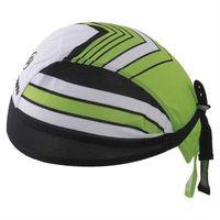 【米蘭精品】自行車頭巾抗紫外線運動頭巾綠谷箭頭紋路設計73fo68