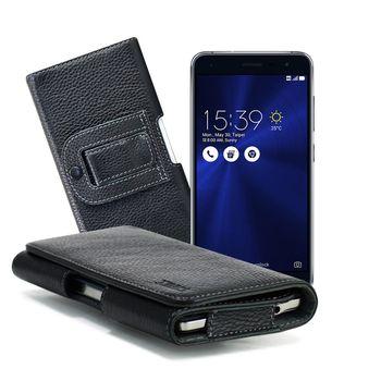 X mart ASUS ZenFone 3 ZE520KL 5.2吋 麗緻真皮腰掛皮套