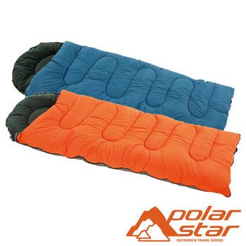 PolarStar 加大型纖維睡袋 (耐寒度 -12~7°C) P16730 戶外│登山│露營│可水洗│寬敞舒適│可當棉被│YKK拉鍊