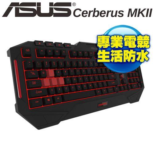 ASUS 華碩 賽伯洛斯 Cerberus MKII 電競鍵盤