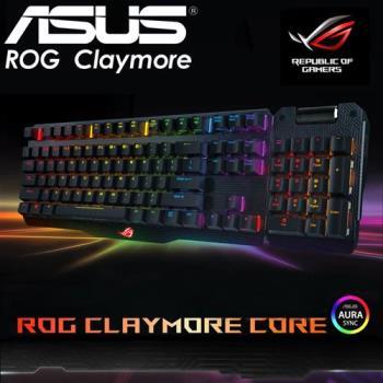 ASUS 華碩 ROG Claymore 機械式電競鍵盤 (茶軸版)