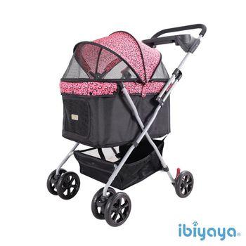 【IBIYAYA依比呀呀】小資國民寵物推車-粉紅豹(FS1617)
