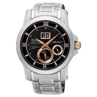 SEIKO 精工 Kinetic 萬年曆大視窗腕錶-41mm 7D48-0AR0D(SNP136J1)