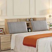 【AT HOME】里約5尺橡木紋雙人床頭箱
