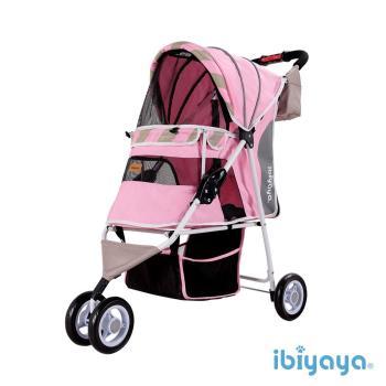 IBIYAYA依比呀呀 繽紛午茶寵物三輪車-蜜糖粉(FS1101S)