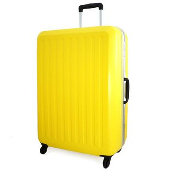 CROWN 皇冠LOJEL系列新款輕量鋁框霧面24吋拉桿箱 行李箱 旅行箱 CF-2857