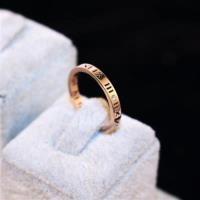 【米蘭精品】玫瑰金戒指鑲鑽銀飾-經典高貴時尚流行母親節生日情人節禮物女飾品73by63