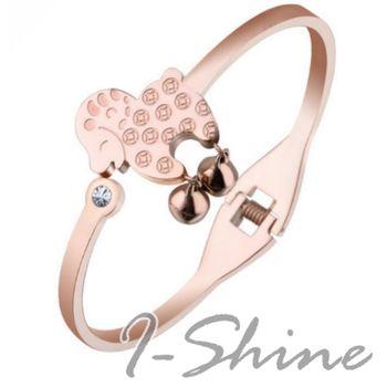 【I-Shine】羊羊得意-西德鋼 羊年行大運鈦鋼手環
