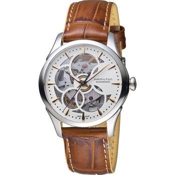 漢米爾頓 Hamilton Jazzmaster 爵士花樣淑女腕錶 H32405551