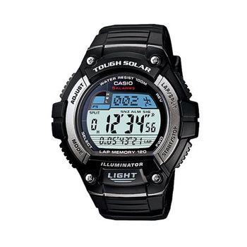 【CASIO】 陽光遊俠電子錶 (W-S220-1A)