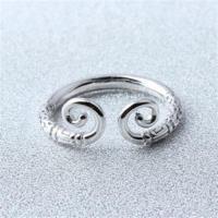【米蘭精品】925純銀戒指緊箍咒開口戒時尚創意齊天大聖73gp8