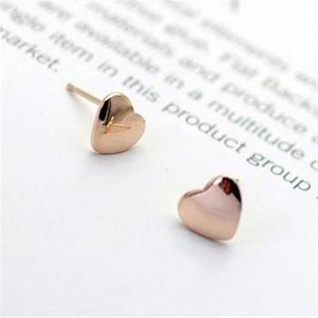 【米蘭精品】925純銀耳環耳飾韓版清新經典氣質2色73gt87