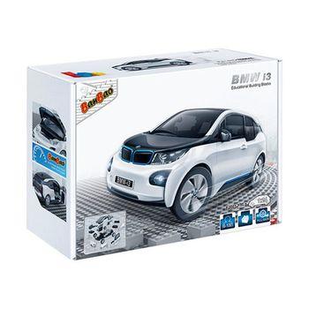 【BanBao 積木】寶馬系列-BMW i3白 回力車 6802-1