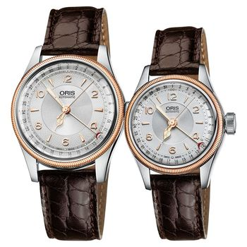 Oris Big Crown 日期機械對錶 0175476964361-0752052+0159476954361-0751452