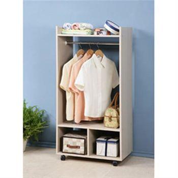 《C&B》森下移動式兩尺衣櫥-寬60CM