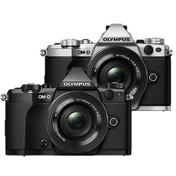 OLYMPUS 奧林巴斯 OM-D E-M5 Mark II 12-40mm KIT + ED 40-150mm F2.8 PRO + MC14 單眼相機 (公司貨)
