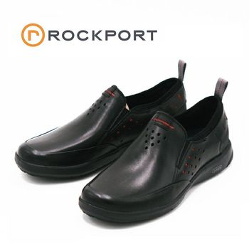 ROCKPORT truFLEX系列TRUFLEX SLIP-ON休閒鞋 男鞋-黑(另有橄欖綠)