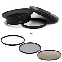 STC Screw-in Lens Adapter 濾鏡接環組 +UV+CPL+ND64 105mm(for OLYMPUS 7-14mm用)