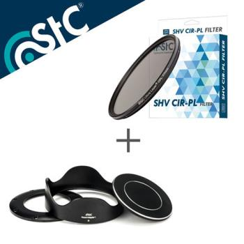 STC Hood-Adapter 轉接環 遮光罩組+CPL 46mm 偏光鏡(RX100 1-5代專用)