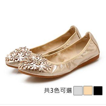 【Alice 】 (現貨+預購) 甜美可人花朵造型平底鞋