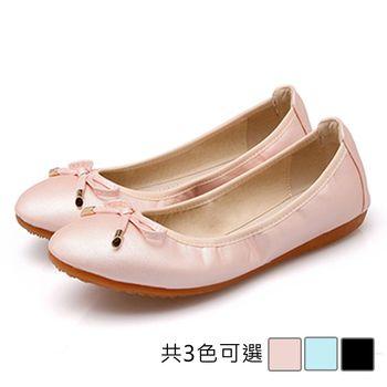 【Alice 】 (現貨+預購) 糖果色蝴蝶結造型可愛平底鞋