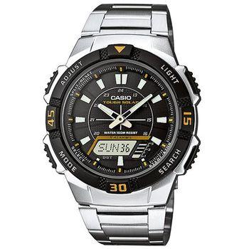 【CASIO】 陽光遊俠新城市雙顯電子錶 (AQ-S800WD-1E)