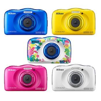 【Nikon】coolpix W100 防水數位相機 (公司貨)