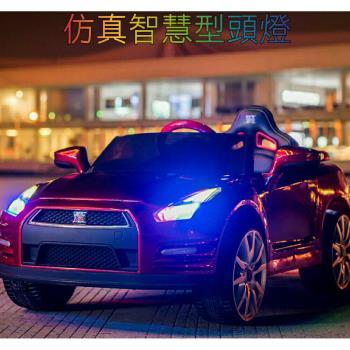 金德恩 正版授權 東瀛戰神 GTR 12V雙驅兒童電動車(3色可選)