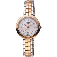 TISSOT Flamingo 甜美氣息時尚腕錶 T0942102211100