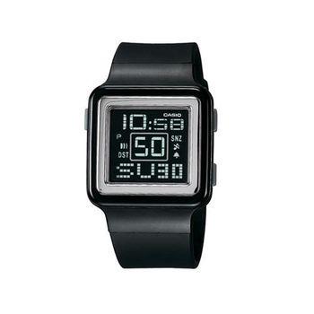 【CASIO】 Poptone 棉花糖彩衣錶-黑 (LDF-20-1A)