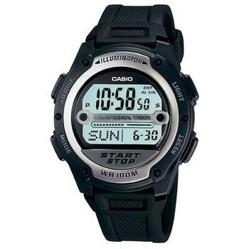 【CASIO】 10年電力先鋒錶 (W-756-1A)
