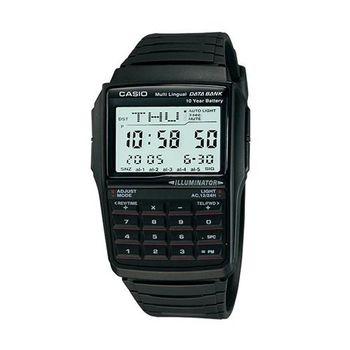 【CASIO】 行動祕書8位元計算機錶-黑 (DBC-32-1A)