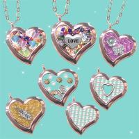 【HEMAKING】潘朵拉月光寶盒玫瑰金愛心項鍊(7款/任選)