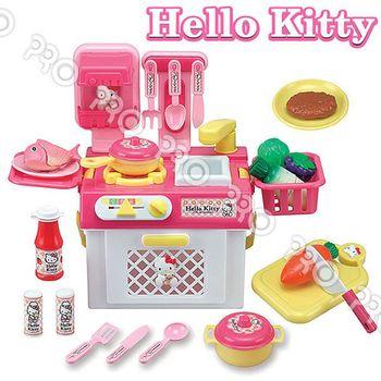 【UP101】HELLO KITTY/流理台瓦斯爐玩具組/扮家家酒/三麗鷗(KT2023)