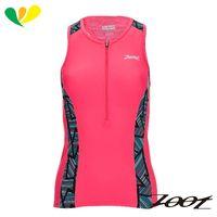 ZOOT 專業級半拉式肌能鐵人上衣(女)(線彩紅) Z1706006