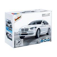 【BanBao 積木】寶馬系列-BMW 535GT白 迴力車 6805-2