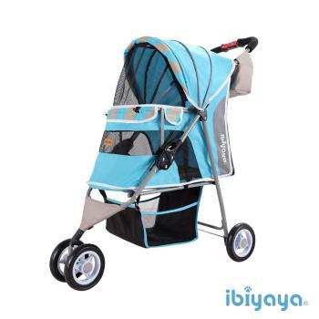IBIYAYA依比呀呀 繽紛午茶寵物三輪車-慕斯藍(FS1101S)