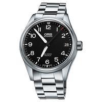 Oris Big Crown ProPilot 大錶冠機械腕錶-黑x銀/41mm 0175176974164-0782019